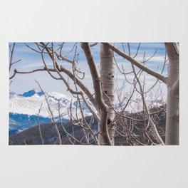 Mountains Through the Trees Rug