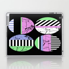 AMPS Uno - Abstract Marble Pastel Stripes Laptop & iPad Skin
