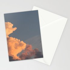 the clouds seem to mimic the treeline. Stationery Cards