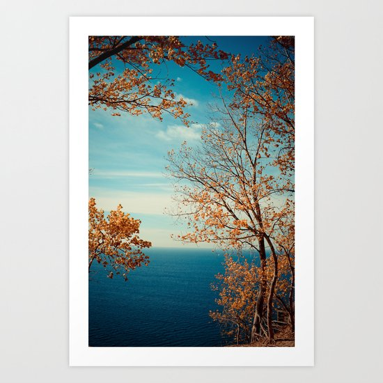 The View From the Top Art Print