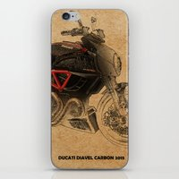 ducati iPhone & iPod Skins featuring Ducati Diavel Carbon 2015 by Larsson Stevensem