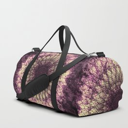 Purple Mandala Duffle Bag