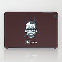 broken iPad Cases featuring Broken by Mike Handy Art