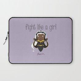 Fight Like a Girl 34 - Storm Laptop Sleeve