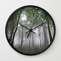 portugal Wall Clocks featuring Sintra, Portugal by Sam Brown