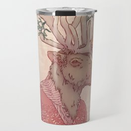 Prancer le Renne Travel Mug