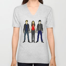 Outfits of Vamps Unisex V-Neck