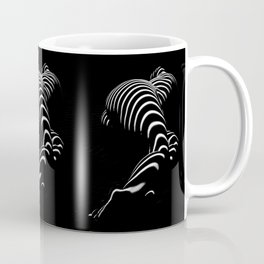 0774-AR BBW Sensual Legs Hips and Ass of a Large Woman Big Beautiful Art Nude Black and White Coffee Mug