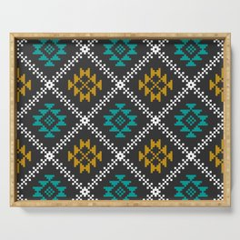 Tribal pattern Serving Tray