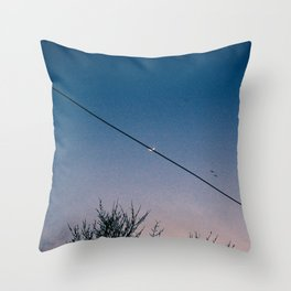 Slash Crescent Throw Pillow