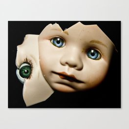 Two Face Canvas Print