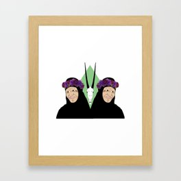 Bedouin beauty Framed Art Print