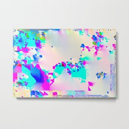 soft glitch Metal Print