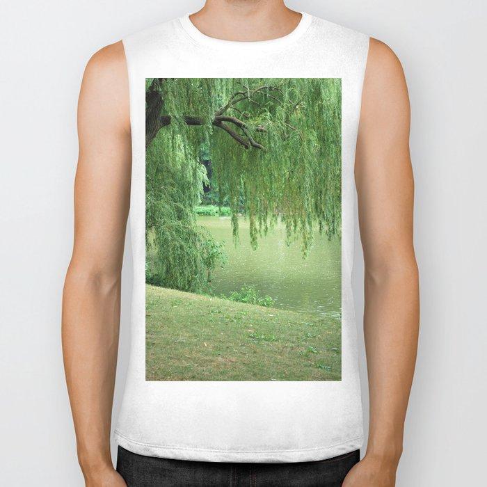 Weeping Willow Biker Tank