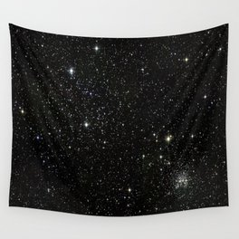 Space - Stars - Starry Night - Black - Universe - Deep Space Wandbehang