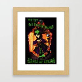 The Duchess Calliope's Circus of Curios  Framed Art Print