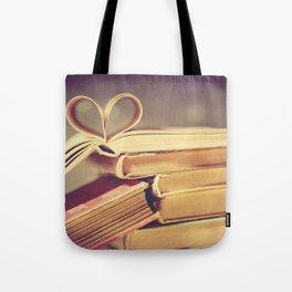 Vintage Book Love Tote Bag