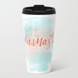 Sunrise Namaste Travel Mug