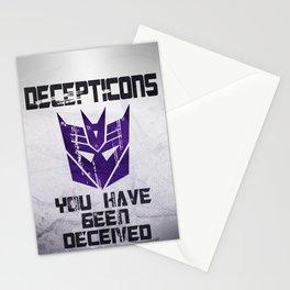 Decepticon Stationery Cards