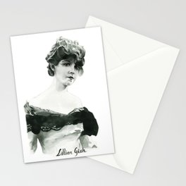 Lillian Gish Stationery Cards