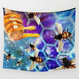 Royal Honey Wall Tapestry