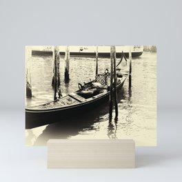 Gondola Mini Art Print
