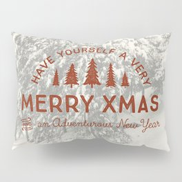 Merry Xmas Pillow Sham