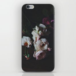 English Roses Still Life - Dark Number Two iPhone Skin