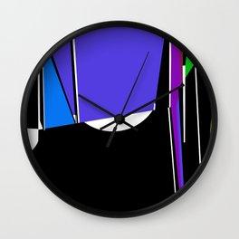 see-thru Wall Clock