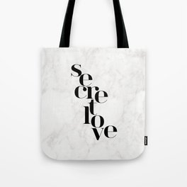 SECRET LOVE Tote Bag