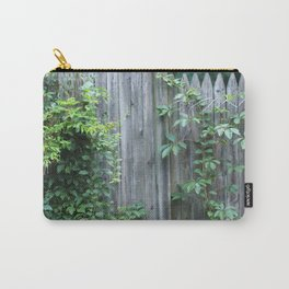 Climbing the Fence Carry-All Pouch