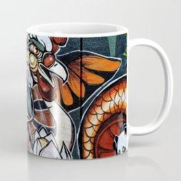 Bird Graffiti Coffee Mug