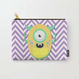 Funny Yellow Guy Carry-All Pouch
