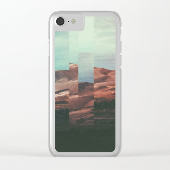 Fractions A62 Clear iPhone Case