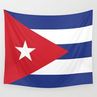 cuba Wall Tapestries featuring Cuba Live by McGrathDesigns