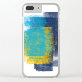 Just Colour 1 Clear iPhone Case