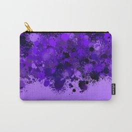 paint splatter on gradient pattern pp Carry-All Pouch