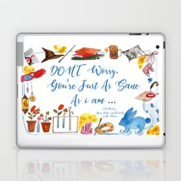 Luna's Quote Laptop & iPad Skin