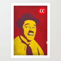 charlie chaplin Art Prints featuring Charlie Chaplin by jnk2007