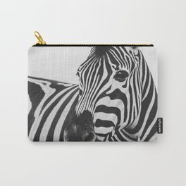 The Thoughtful Zebra Carry-All Pouch