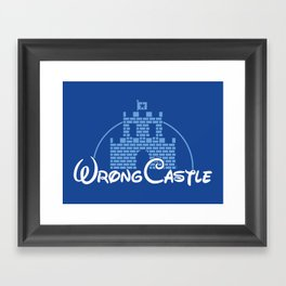 Wrong Castle Framed Art Print