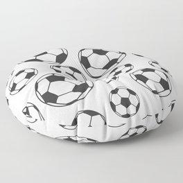 Soccer Balls Floor Pillow