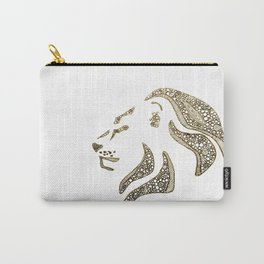 Proud Lion Carry-All Pouch