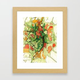 Mate' Cartography Framed Art Print
