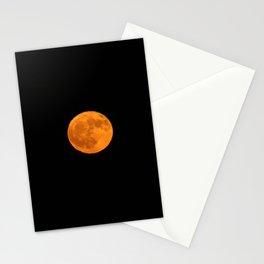 October Harvest Moon Stationery Cards