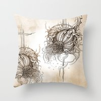 fruit Throw Pillows featuring Fruit by Irina Vinnik