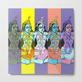 Kali Collage Metal Print