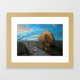 Mother of Anguishes Framed Art Print