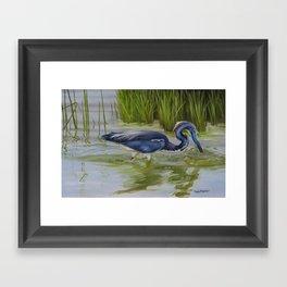 Southern Blues Framed Art Print
