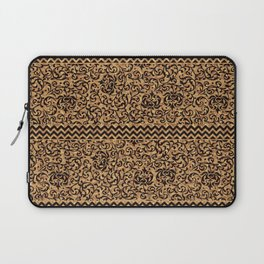 Golden Renaissance Damask Laptop Sleeve